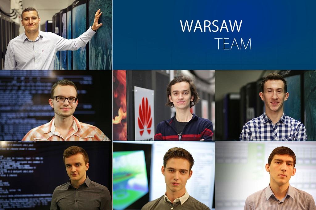 Warsaw Team w finale konkursu ASC17