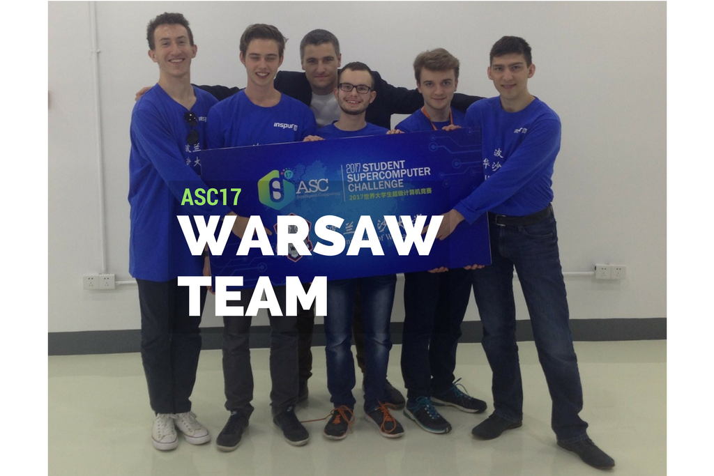 Sukces Warsaw Team podczas Asia Supercomputing Challenge 2017