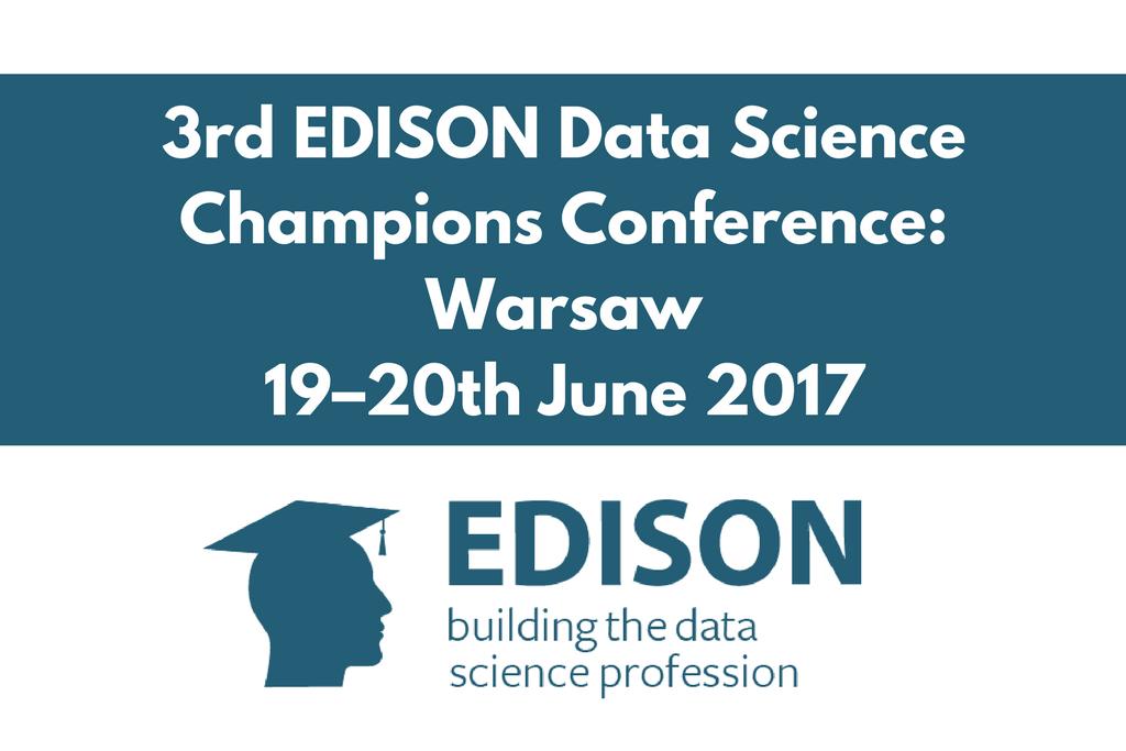 Warszawska konferencja podsumuje projekt EDISON
