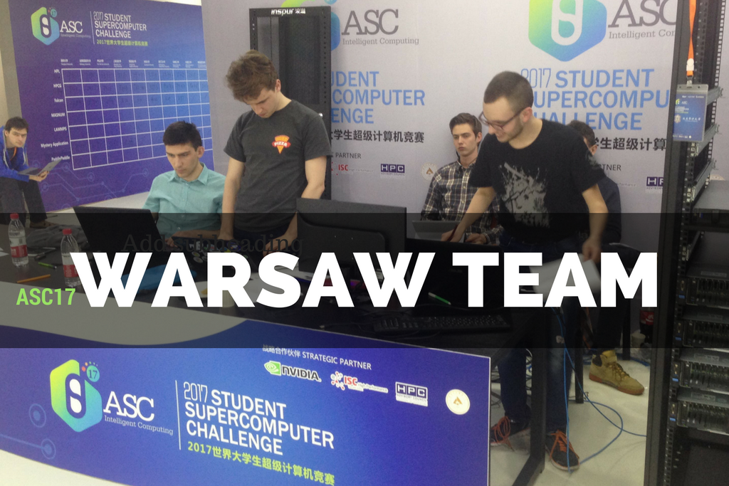 Ministerial grant for Warsaw Team