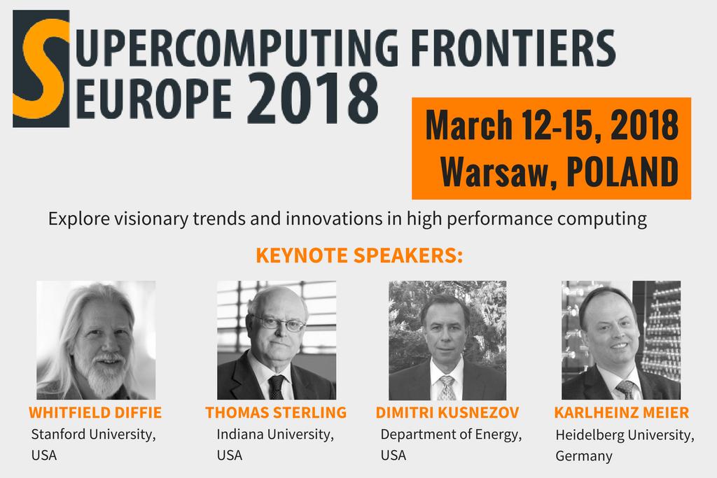 Ilustracja wpisu Międzynarodowa konferencja Supercomputing Frontiers po raz pierwszy w Polsce