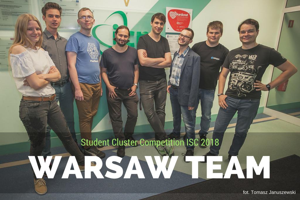 Ilustracja wpisu Warsaw Team w elitarnym gronie uczestników Student Cluster Competition