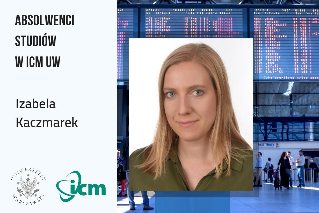 Absolwenci inżynierii obliczeniowej w ICM UW – Izabela Kaczmarek
