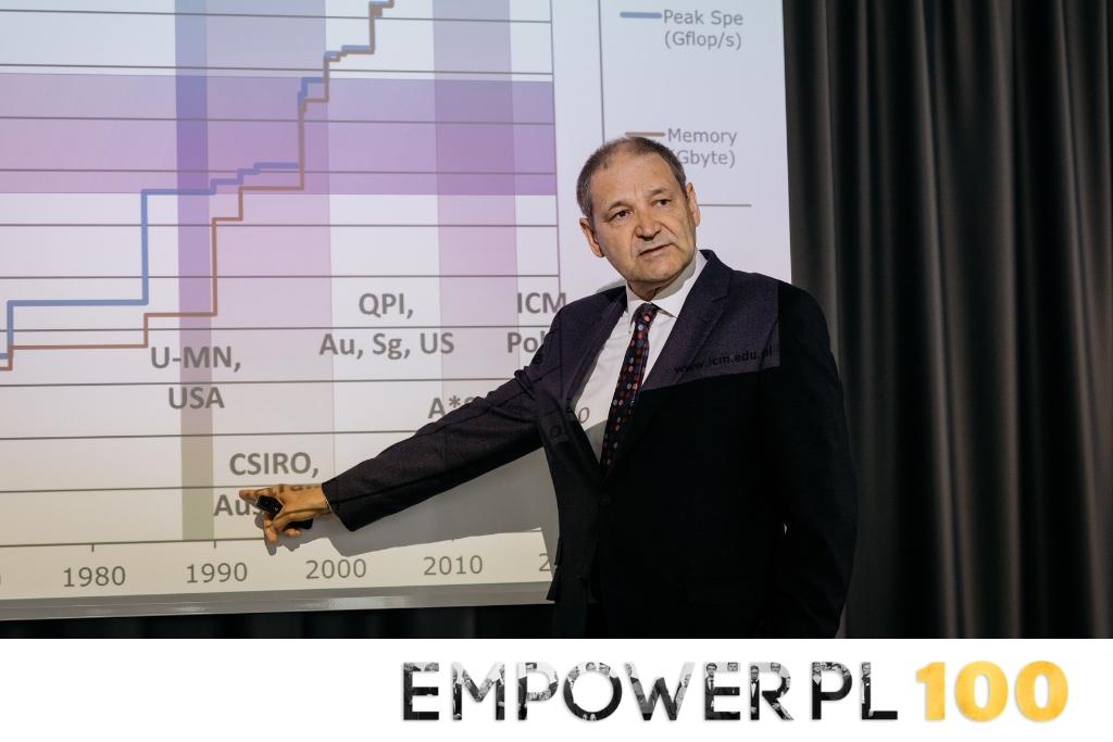 Dyrektor ICM UW mentorem w programie EmpowerPL 100
