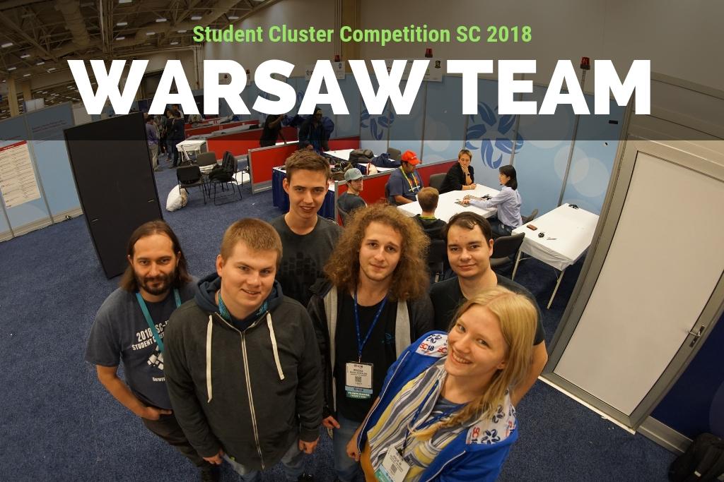 Warsaw Team w międzynarodowym konkursie Student Cluster Competition