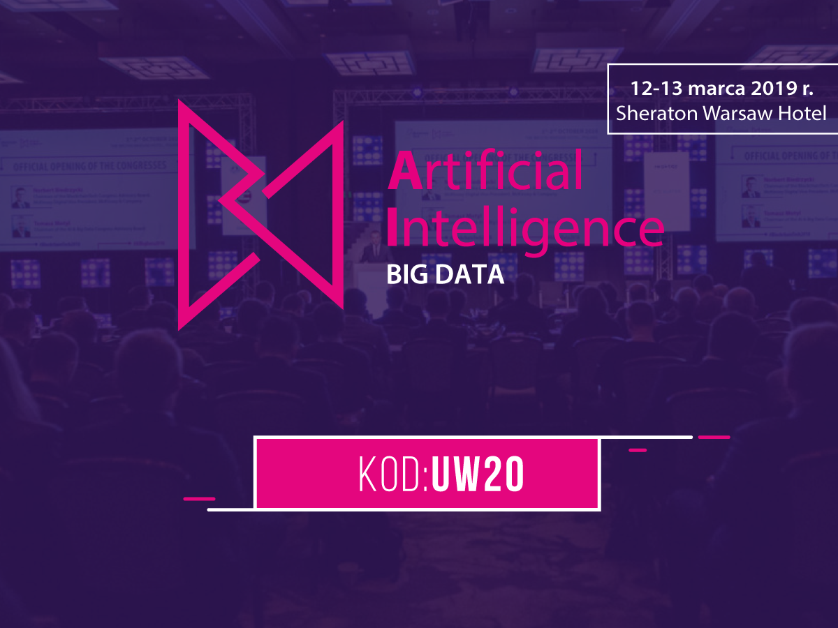 ICM objął patronatem Artificial Intelligence & BIG DATA Congress