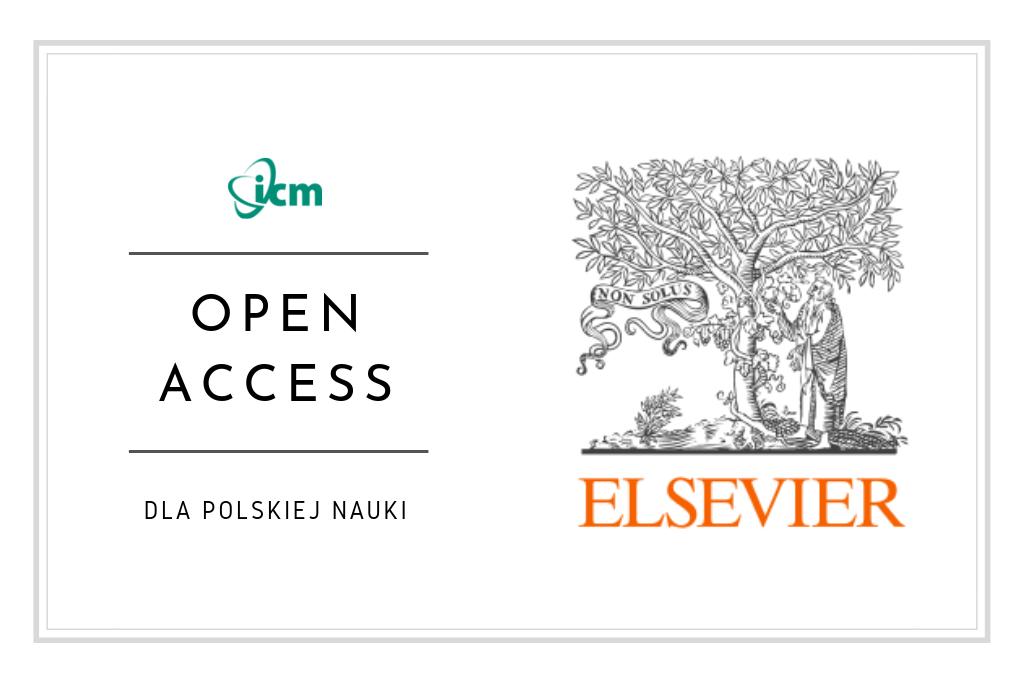 Jedyny taki Open Access (OA) – szczegóły publikowania otwartego dla Polski [2.09 rusza pilotażowy program w ramach licencji Elsevier]