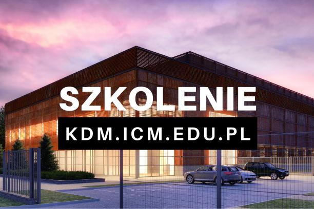 KDM ICM szkolenie 15 stycznia 2020