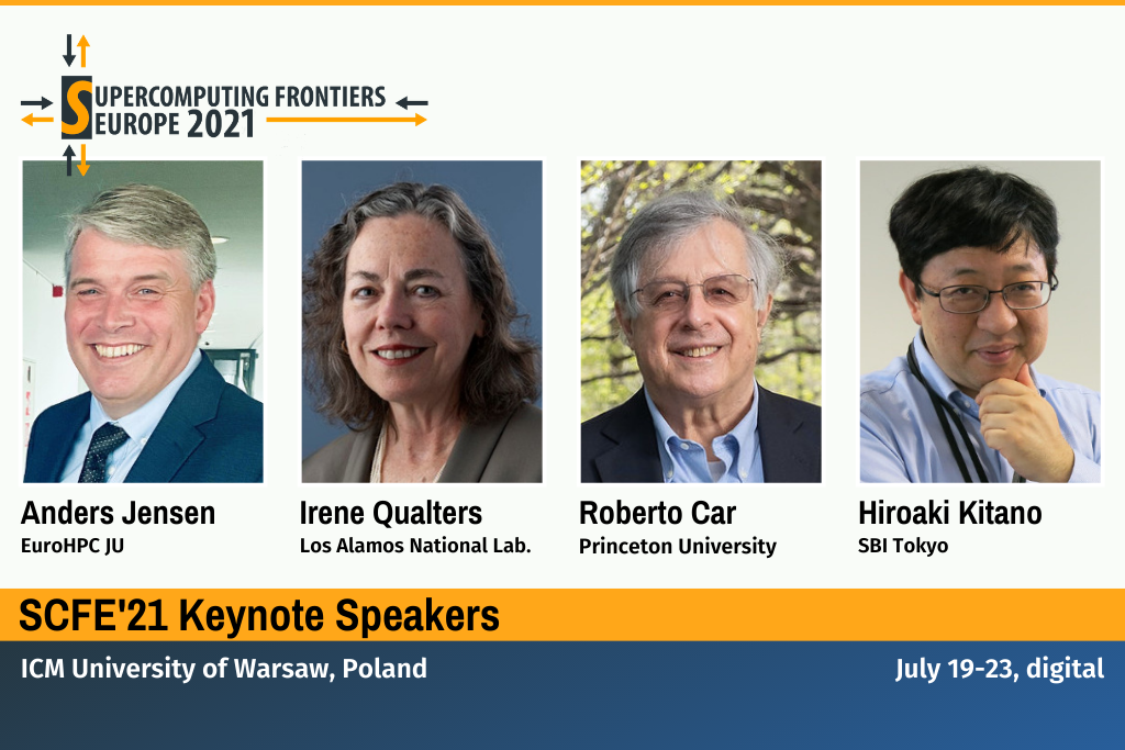 Supercomputing Frontiers Europe 2021 Keynote Speakers